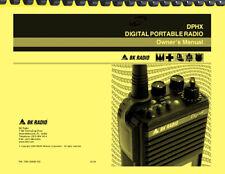 Bendix King BK DPHX5102X Handheld Radio USER GUIDE OWNER'S MANUAL