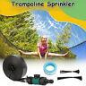 12M Trampoline Sprinkler Spray Water Garden Kids Waterpark Summer Outdoor Game