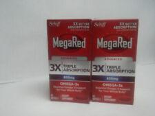 MegaRed Advanced 3X Triplo assorbimento 800 MG 80 Softgels (CA1)