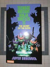 "NECA Teenage Mutant Ninja Turtles Super Shredder Deluxe Action Figure 7"" New"