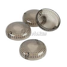 4x Smoke Turn Signal Lenses For Yamaha V-Star XVS 250 650 950 1100 1300 Classic