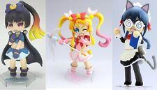 "AUTH Limited Sega 4"" Oreimo PRIZE C Kirino & D Kuroneko & E Saori PVC Figure Set"
