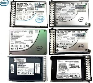 Micron 5100 ECO SATA3 3.84TB HP/Intel P4500 P4600 SSD DC Express  NVMe x4 MU SFF
