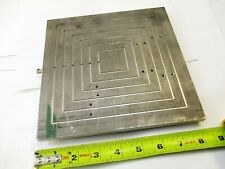 Microscope Vacuumpneumatic Stage Plate Wafer Manufacturing 8 X 8