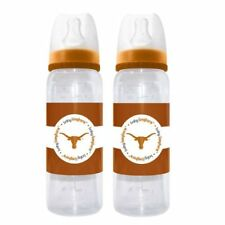Texas Longhorns NCAA (Baby Fanatic) Baby Infant Bottle (Set of 2) BPA Free