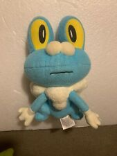 "Froakie Pokemon Plush Figure 7.5"" Official Tomy 2015"