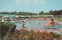 Postcard Errantes Cedar Terrace Motel Cairo Greene Co NY Catskill Mts c1960s