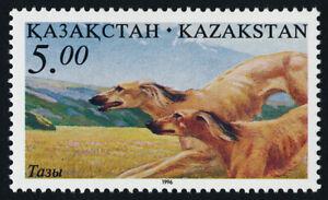 Kazakhstan 165 MNH Hunting Dogs