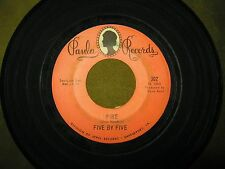 Five By Five - Garage Psych Hendrix Cover - Hang Up / Fire - 45 RPM Paula #302