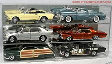 Model Diecast Display Case 1/18th Scale 6 car Horizontal