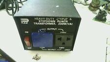 43002 Heavy Duty Stepup Stepdown Power Transformer 110/220V 200W