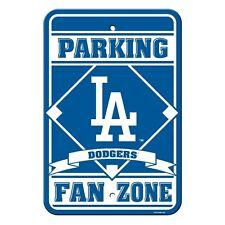 MLB Los Angeles Dodgers Plastic Fan Zone Parking Sign