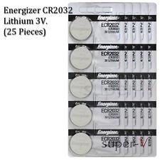 Energizer CR2032 3V Lithium Coin Batteries ECR2032 (25 Coin Cells)
