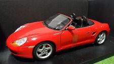 PORSCHE 911 BOXSTER S Rouge 1/18 UT Models WAP02101299 voiture