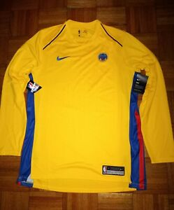Nike Golden State Warriors Jersey Shirt Men Size L Large896421 729 CNY THE BAY