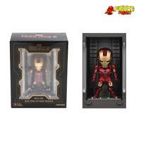 Beast Kingdom Mini Egg Attack MEA-015 Iron Man 3 Hall of Armor LIGHT UP Mark IV