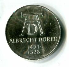 5 DM Deutsche Mark Deutschland 1971 D Albrecht Dürer M_1316