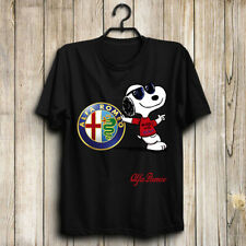 Alfa Romeo/Stelvio/Giulia/4C Spider/Giulietta Men's US T-Shirt Hot Gift Funny