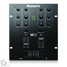 NUMARK  M101  DJ MIXER IN BLACK  -  BRAND NEW WITH GUARANTEE!!