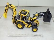 RARE LEGO TECHNIC 8455 chargeuse-pelleteuse JCB Digger 100% complet