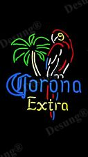 New Style Corona Extra Parrot Palm Tree Beer Art Lamp Led Neon Sign