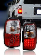 Set of Pair Red Lens LED Taillights for 1996-2002 Toyota 4Runner