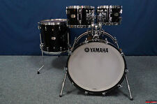 "Yamaha Absolute Hybrid Maple Shellset  -  ""SOLID BLACK""  -  22,10,12,16"""