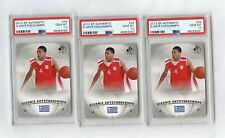 3 2013 SP Authentic #36 Giannis Antetokounmpo RC Rookie PSA 10 Lot Bucks