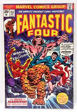 #153 FANTASTIC FOUR Marvel 1970s Comic Book- VF (FF-153)