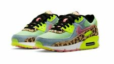 Nike Women's Air Max 90 LX Shoes Illusion Dancefloor Green CW3499-300 NEW