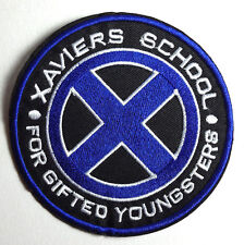 "X-MEN Xavier's School for Gifted Youngsters 4"" Blue Logo Patch (XMPA-01-B)"