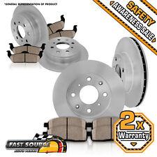 Front Rear Rotors Ceramic Pad 1998 1999 2000 2001 2002 HONDA ACCORD EX LX DX SE