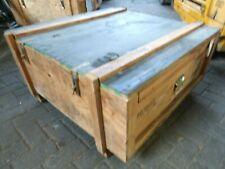 Couchtisch Truhe Tisch Kiste Frachtkiste Holzkiste Minibar Loft Shabby Holztruhe