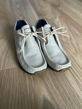 White Kickers Loafers Uk7