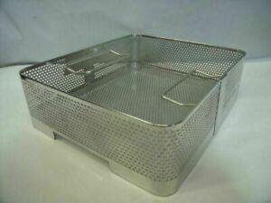 Genesis Sterilization  Baskets 9.1in x 10.4in x 2.6in