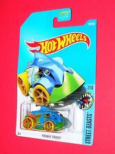 2017 Hot Wheels Piranha Terror #278 Street Beasts Dty53-D9B0M M case