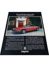 1976 Jaguar XJ6 XJC Coupe  Vintage Advertisement Car Print Ad J409