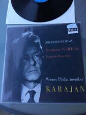 Johannes Brahms Symphonie Nr3 F-Dur LP Karajan 1559