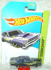Hot Wheels 2014 Heat Fleet Series '69 Dodge Cornet Superbee purple,ex.card