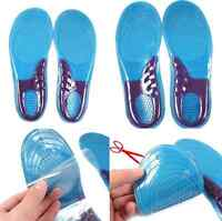 Worker Boots High Quality Comfort Arch Support Massaging Gel Silicon Insoles