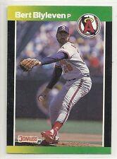 1989 Donruss Baseball's Best - #3 - Bert Blyleven - California Angels