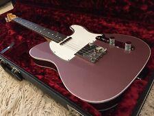 2019 Fender USA American Original 60s Telecaster Custom in Burgundy Mist w/ OHSC
