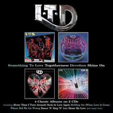 L.T.D. : Something to Love/Togetherness/Devotion/Shine On CD (2018) ***NEW***