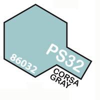 Peinture Spray Pour Polycarbonate 100 Ml. Course Gray Ps32 Tamiya