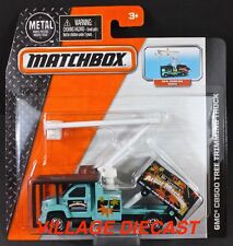 2016 Matchbox Real Working Rigs GMC® C8500 Tree Trimming Truck TEAL / MOC
