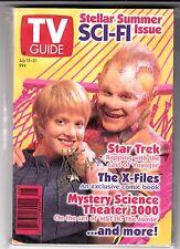 TV GUIDE July 15-21, 1995  X-Files Comic STEFAN PETRUCHA  #'d 1395/2000 SIGNED