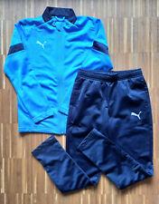 PUMA Trainingsanzug Sportanzug - Größe 140 - blau