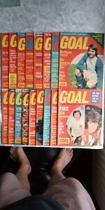17 GOAL MAGAZINES from August  1973  No260  To May 1974  No295