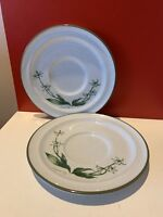Noritake Mountain Flowers Saucer(s) #8343 Set Of 2