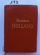 Baedeker Holland 1927 (W.)